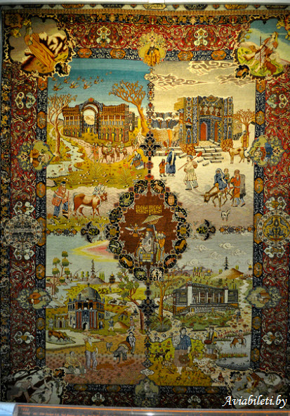 carpet museum tehran