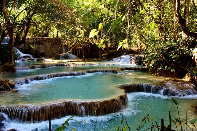Luang-Prabang-Waterfall