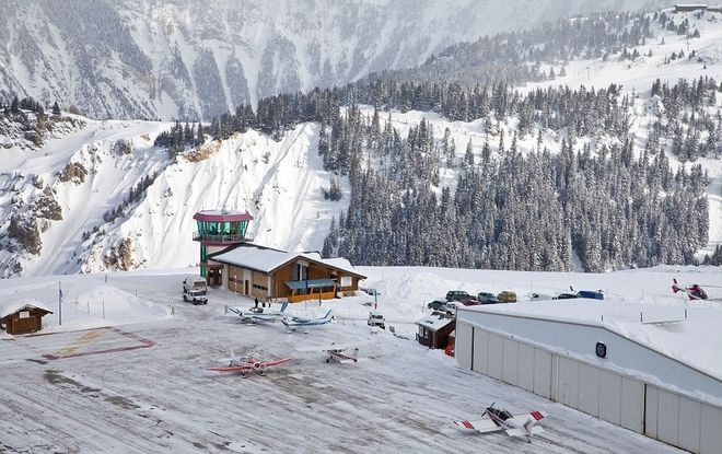 Airport Courchevel