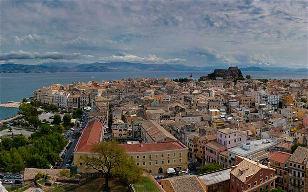 corfu-town_greece