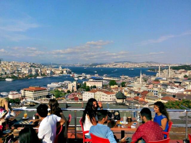 Mimar Sinan Rooftop Cafe